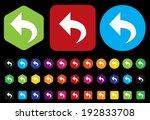arrow icon   Shutterstock .eps vector #192833708
