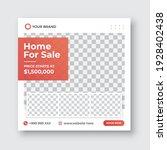 real estate social media post...   Shutterstock .eps vector #1928402438