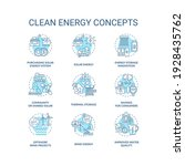 nature energy concept icons set.... | Shutterstock .eps vector #1928435762
