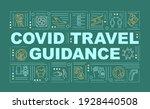 covid travel guidance word...