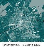 vector map of the city of Timisoara, Romania