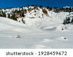 Winter Landscape. At The Frozen ...