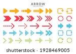 flat modern arrow vector in png ...