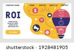 vector website design template .... | Shutterstock .eps vector #1928481905