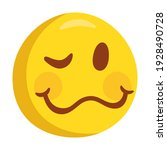 woozy face emoji icon...   Shutterstock .eps vector #1928490728