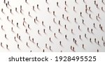 large group of people on white... | Shutterstock .eps vector #1928495525