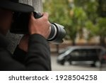 Private Detective With Modern...