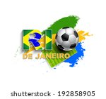rio de janeiro 2014 event... | Shutterstock . vector #192858905
