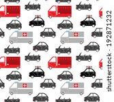 seamless pattern of cartoon... | Shutterstock . vector #192871232