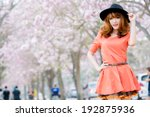 beautiful asian girl | Shutterstock . vector #192875936