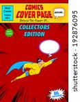illustration of comic book... | Shutterstock .eps vector #192876095
