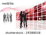 business people | Shutterstock .eps vector #19288018