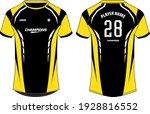 sports jersey t shirt design... | Shutterstock .eps vector #1928816552