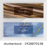 watercolor and liquid ink with...   Shutterstock .eps vector #1928870138