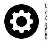 settings isolated flat vector...   Shutterstock .eps vector #1928930195