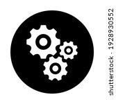 gears icon flat vector....   Shutterstock .eps vector #1928930552