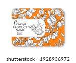 orange. ripe citrus. template...   Shutterstock .eps vector #1928936972