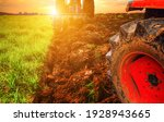 Agriculture Use Tractor Plowing ...