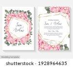floral design for wedding... | Shutterstock .eps vector #1928964635