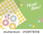 Vector Background With Picnic...