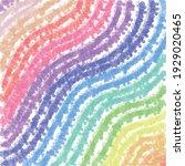 tie die pastel hippie textile... | Shutterstock .eps vector #1929020465