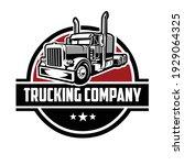 trucking logo template. premium ...   Shutterstock .eps vector #1929064325