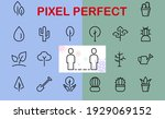 a set of rosteniya icons  and... | Shutterstock .eps vector #1929069152