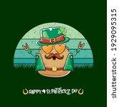 happy saint patricks day... | Shutterstock .eps vector #1929095315