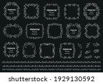 calligraphic design elements ....   Shutterstock .eps vector #1929130592