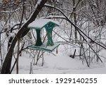 Green Bird Feeder Under The...