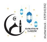 vector illustration of marhaban ...   Shutterstock .eps vector #1929141542