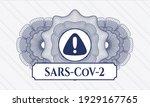 blue money style emblem or...   Shutterstock .eps vector #1929167765