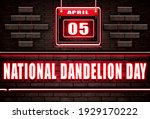 05 April. Happy National...