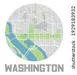 minimalistic washington  d.c.... | Shutterstock .eps vector #1929183932