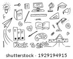 vector illustration of back to...   Shutterstock .eps vector #1929194915