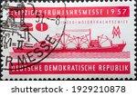 Germany  Ddr   Circa 1957   A...