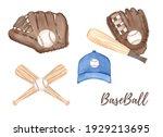 Watercolor Baseball...