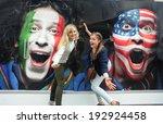 minsk  belarus   may 10  2014 ... | Shutterstock . vector #192924458