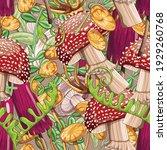 very bright seamless pattern...   Shutterstock .eps vector #1929260768