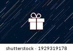 large white gift symbol framed...   Shutterstock .eps vector #1929319178