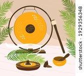 a flat vector cartoon...   Shutterstock .eps vector #1929356348