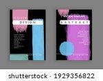 minimalistic art. cover design. ... | Shutterstock .eps vector #1929356822