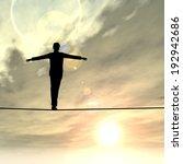 conceptual concept of 3d... | Shutterstock . vector #192942686