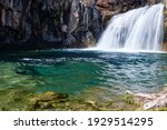 The Waterfall at Fossil Creek, Camp Verde, AZ