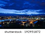 oslo from the east side of... | Shutterstock . vector #192951872