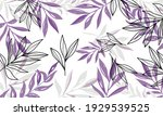 nature flowers and leaves... | Shutterstock .eps vector #1929539525