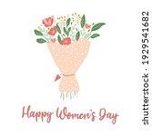 internationa women's day... | Shutterstock .eps vector #1929541682