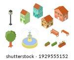 vector illustration set of... | Shutterstock .eps vector #1929555152