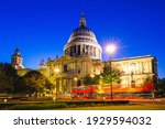 Night View Of St Paul Cathedral ...
