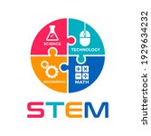 stem vector icon or graphic... | Shutterstock .eps vector #1929634232